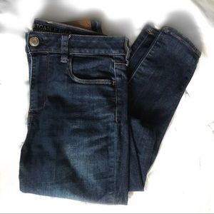 American Eagle Super Stretch High Waisted Jeans